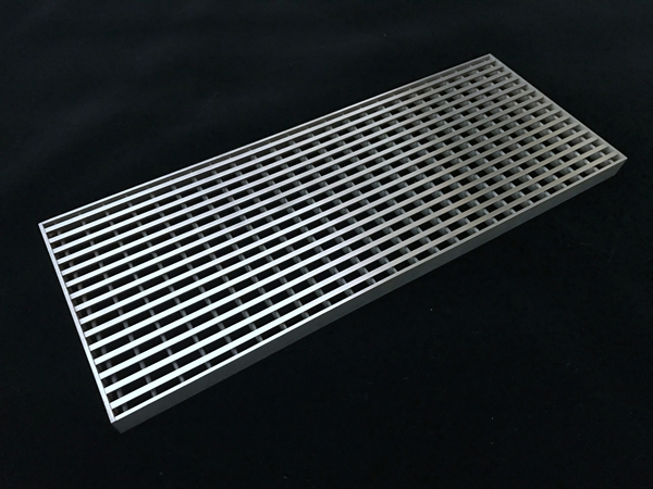 Stainless Steel Heel Guard Grate