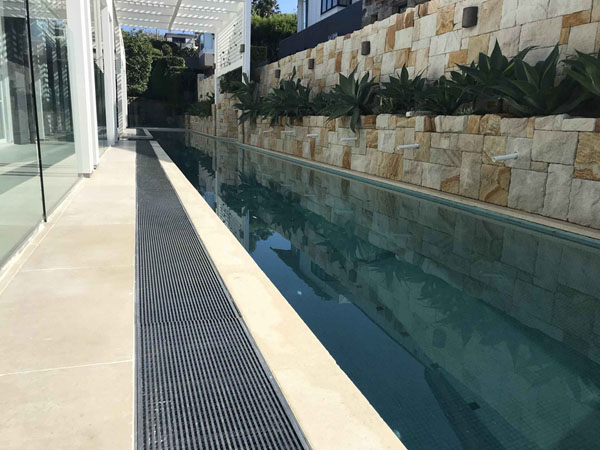 Stainless Steel Pool Drainage System